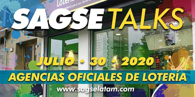 La próxima entrega de SAGSE Talks estará orientada hacia las agencias oficiales de lotería argentinas