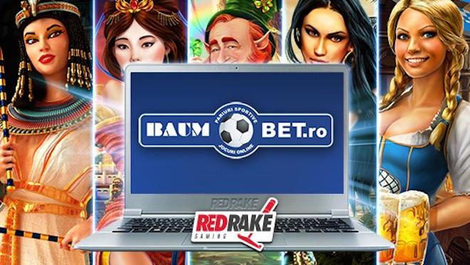 Red Rake Gaming lanza sus juegos con Baumbet.ro