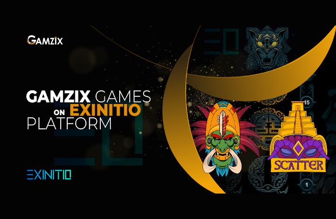 Gamzix entra en el mercado igaming tras firmar un acuerdo con Exinitio
