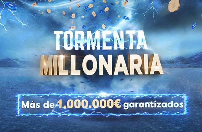 Comienzan los 236 torneos de la Tormenta Millonaria