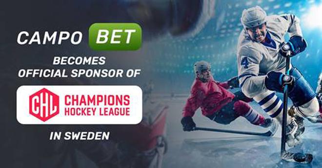 Campobet se convierte en el patrocinador de la Liga Sueca de Hockey