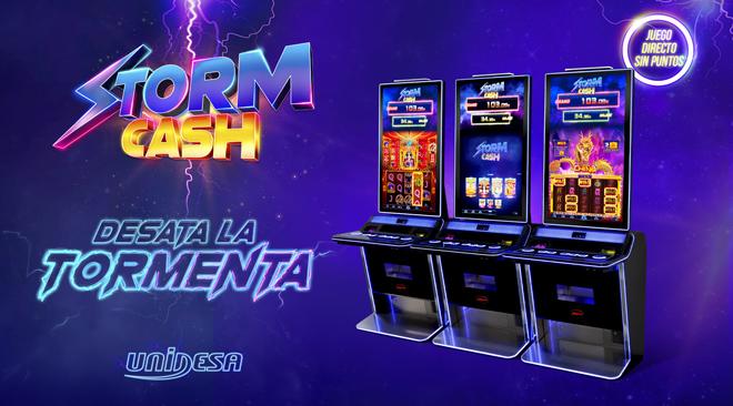 Unidesa desata la tormenta con su nueva Storm Cash