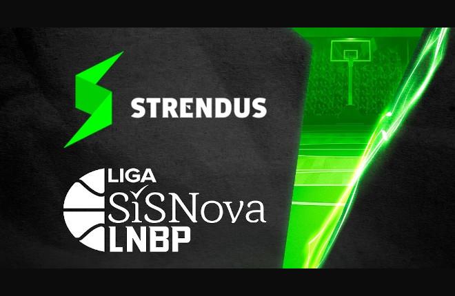 Strendus, patrocinador de la Liga de Baloncesto de México