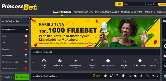 Pronet Gaming se asocia con PrincessBet en Tanzania