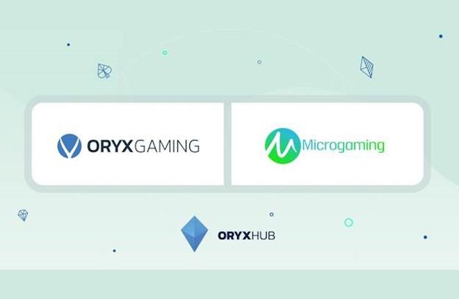 Oryx firma un acuerdo de distribución con Microgaming