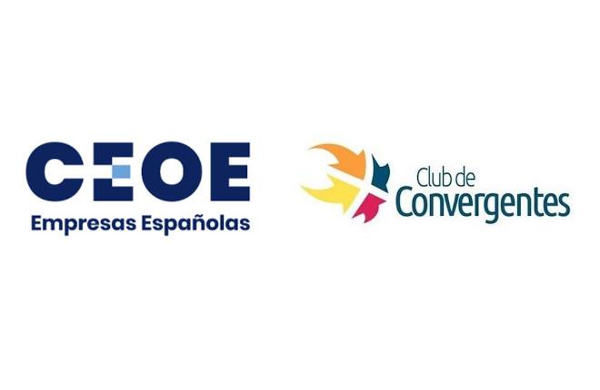El Club de Convergentes en la reunión telemática de secretarios generales de las organizaciones territoriales y sectoriales de CEOE
