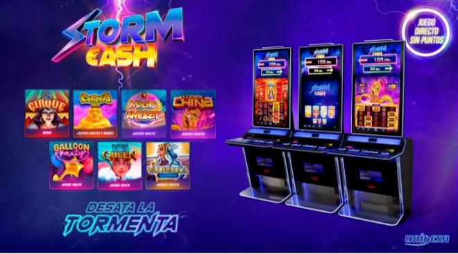 Storm Cash de Unidesa: un juego para cada jugador