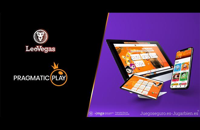 LeoVegas presenta en directo el bingo de Pragmatic Play
