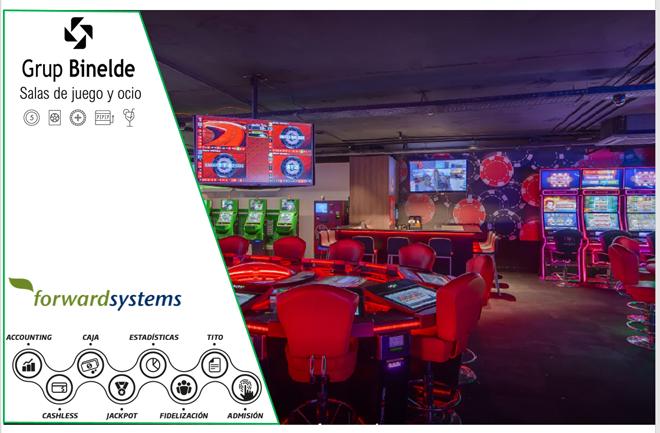 Grup Binelde confía de nuevo en Forward Systems e instala TITO en sus salas