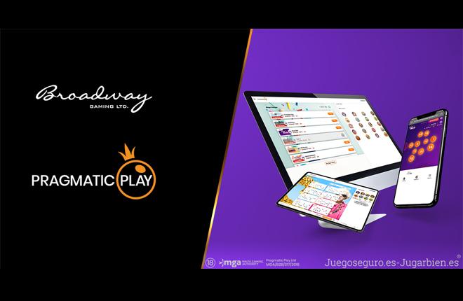 Tras cerrar un histórico acuerdo, Broadway Gaming presenta en directo la oferta de Pragmatic Play