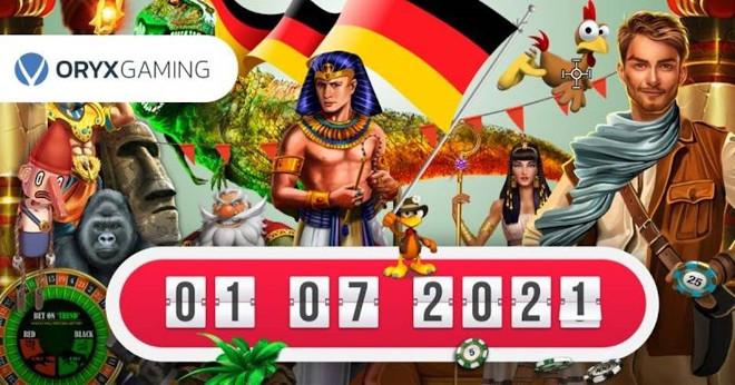 Las slots de Oryx Gaming se adaptan a la nueva regulación en Alemania