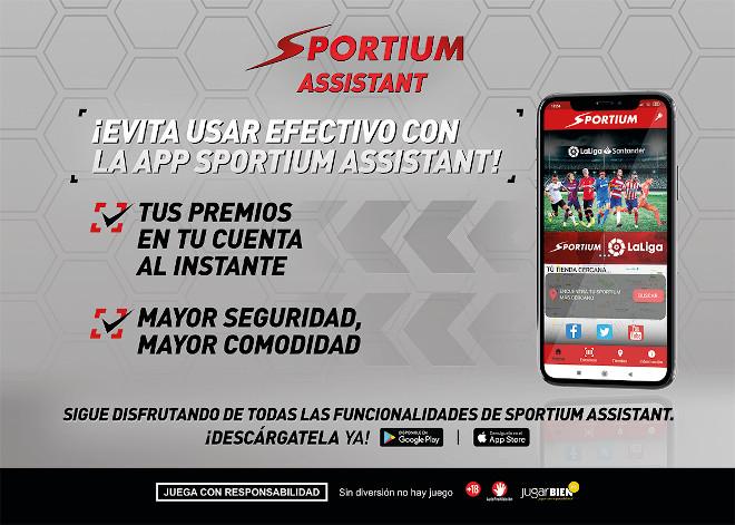 Sportium líder en tecnología contactless