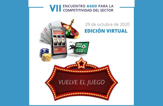 El VII Encuentro AGEO analizará la situación del sector del juego privado presencial en plena pandemia