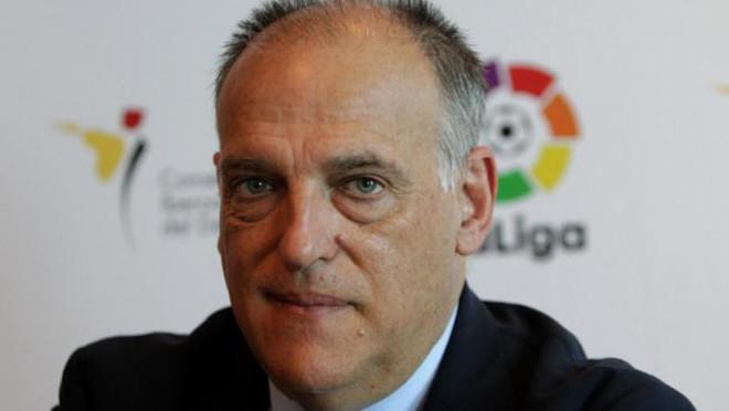 LaLiga de fútbol cifra en 90 millones de euros las pérdidas provocadas por el nuevo reglamento de publicidad de Garzón