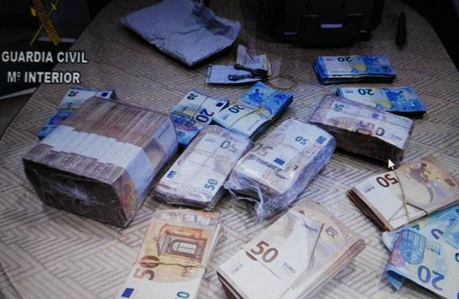 Desmantelada una organización en Sanlúcar por blanquear dinero comprando loterías premiadas