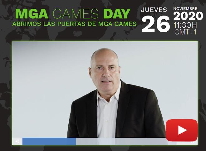 Avance del MGA Games Day, el evento online para los operadores de casino online de todo el mundo