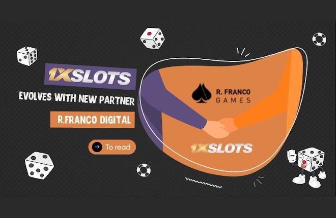 1xSlots evoluciona con la cartera de juegos de R.Franco Digital