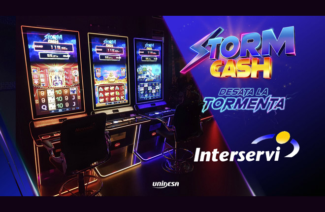 Storm Cash seduce a Interservi