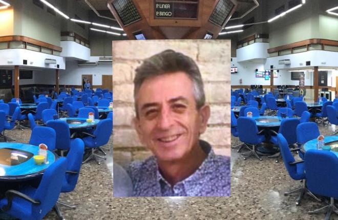 Fallecimiento de Javier Giménez Santo, dueño de la Sala de Bingo Mónaco de Puerto de Sagunto (Valencia)