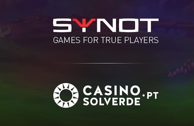 La cartera de Synot Games amplía su alcance con Solverde.pt
