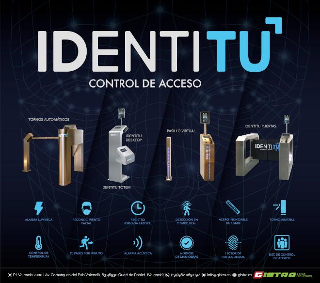 Identitu incorpora tres versiones de puertas y pasillos en el acceso a las salas