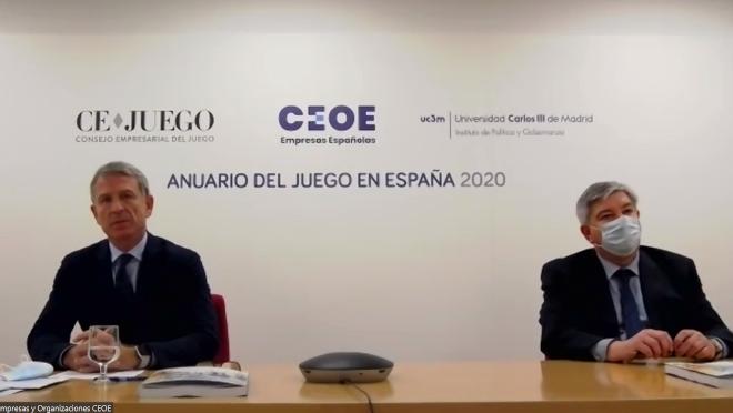 El juego real en España se situó hasta finales de octubre de 2020 en 4.345 millones de euros, un 50% por debajo del 2019