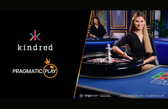 Pragmatic Play pone sello a la integración directa del casino en vivo con Kindred
