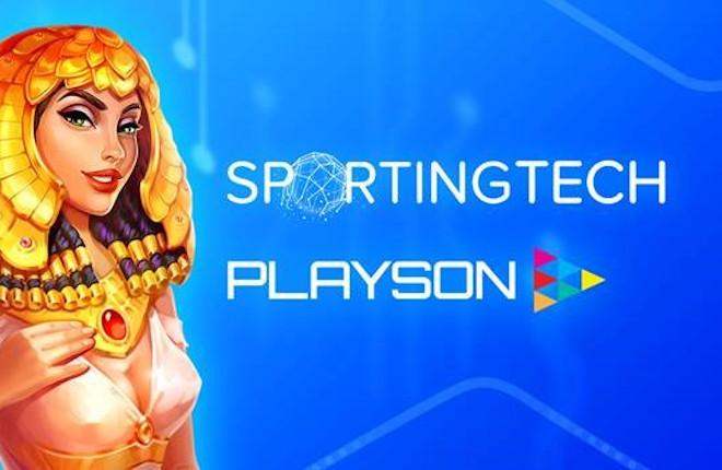 La plataforma Pulse Gaming, de Sportingtech, se ve reforzada por el contenido de Playson