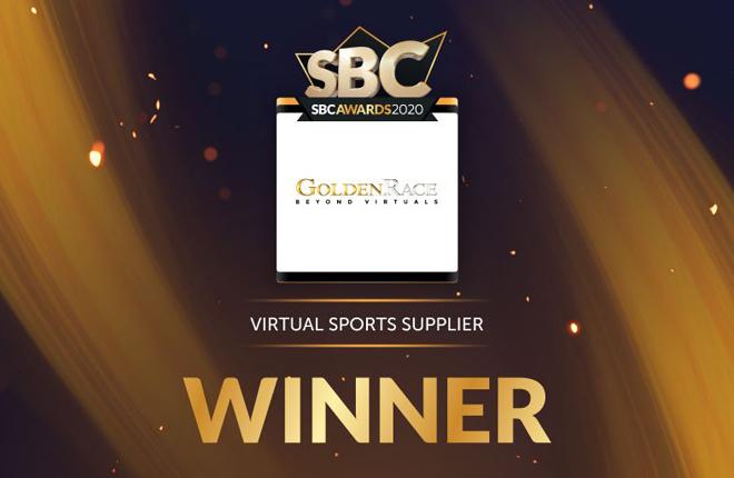 Golden Race, premio al mejor proveedor de deportes virtuales y bettings solutions