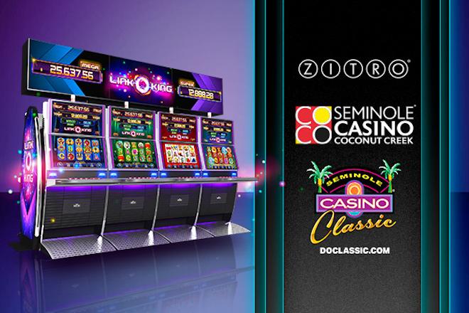 Link King de Zitro brilla en los casinos seminoles de Florida