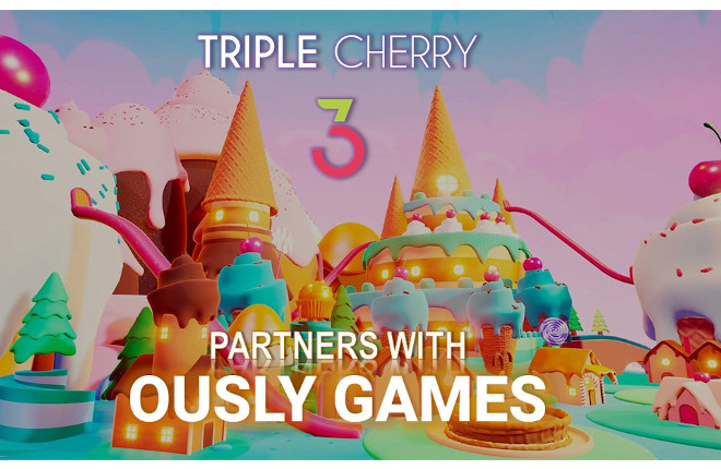 Triple Cherry se asocia con Ously Games