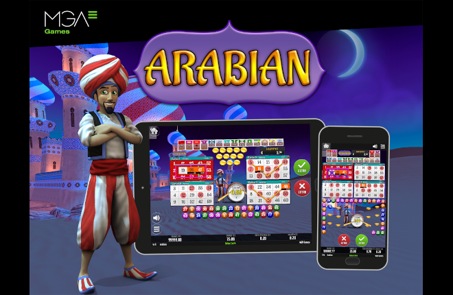 MGA Games propone un mágico viaje para estas Navidades con el nuevo Arabian Bingo