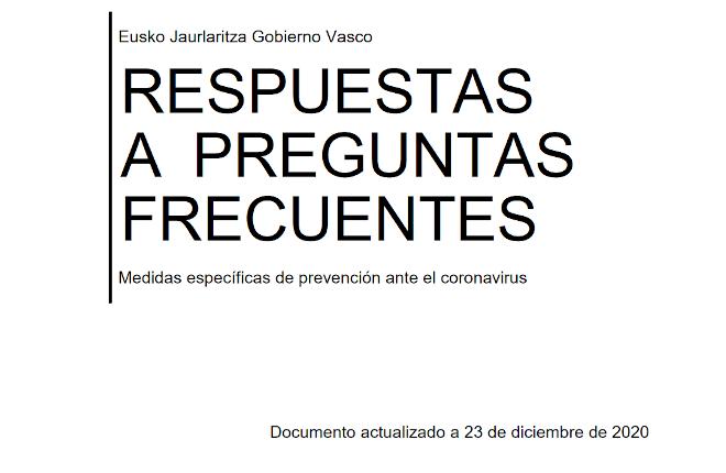El Gobierno vasco informa de la prohibición de uso de las máquinas B y terminales de apuestas en bares como medida preventiva ante el coronavirus