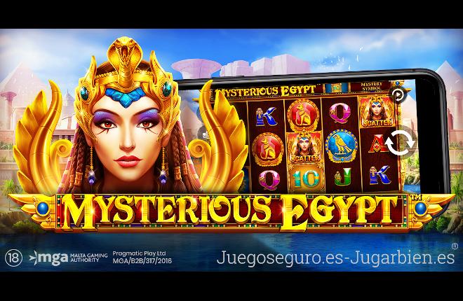 Pragmatic Play muestra una verdadera joya en su última slot Mysterious Egypt