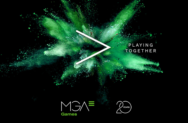 MGA Games celebra su 20 aniversario bajo el lema Playing Together