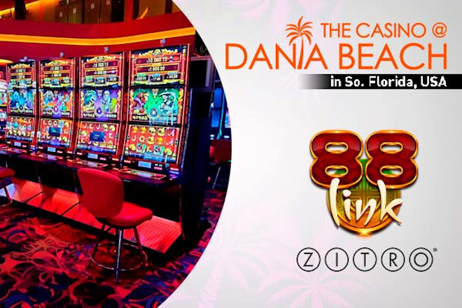 88 Link de Zitro debuta en EE.UU de la mano de Casino Dania Beach