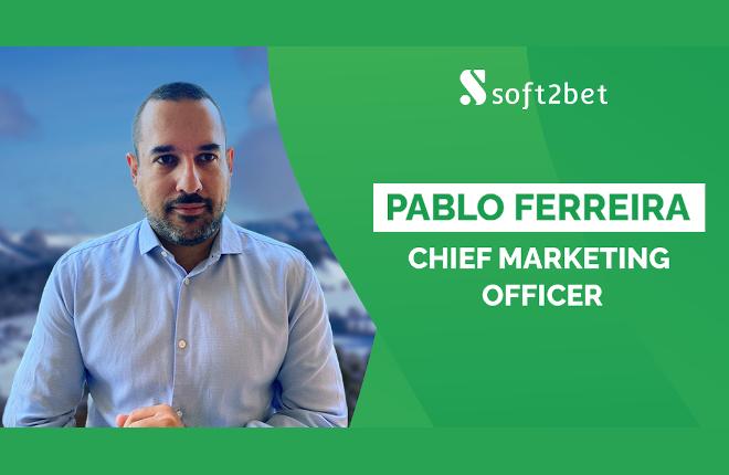 Soft2Bet nombra a Pablo Ferreira director de marketing