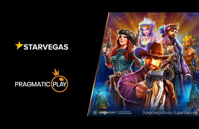 Pragmatic Play lanza su catálogo de slots con Starvegas.it