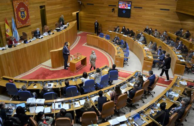 El Parlamento gallego aprueba la Ley de medidas fiscales y administrativas que contiene bonificaciones para el sector del juego