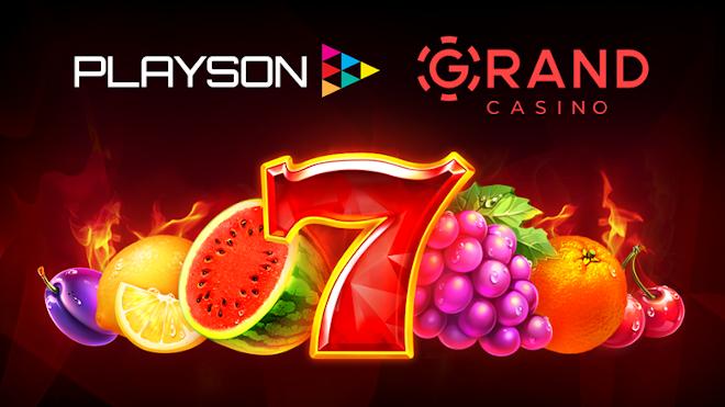 Playson llega a un acuerdo con GrandCasino Belarus