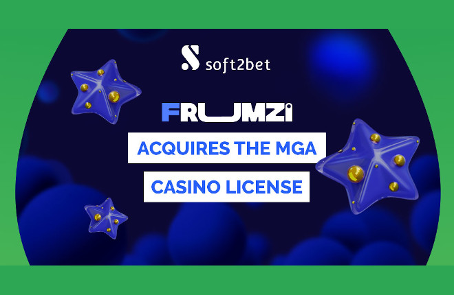 La marca de casino Frumzi acreditada por la Autoridad de Malta