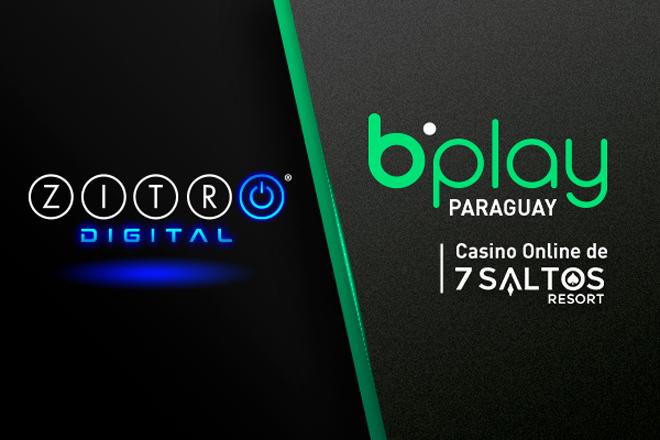 El casino online de 7 Saltos Resort de Paraguay bplay estrena los juegos de Zitro Digital