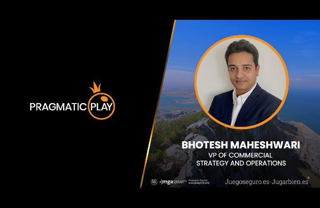 Pragmatic Play nombra a un nuevo vicepresidente de Estrategia y Operaciones: Bhotesh Maheshwari