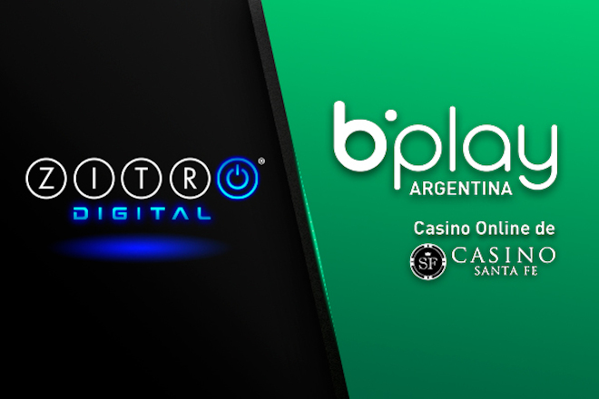 Los juegos de Zitro Digital triunfan en bplay.com.ar, la oferta online del Casino de Santa Fe