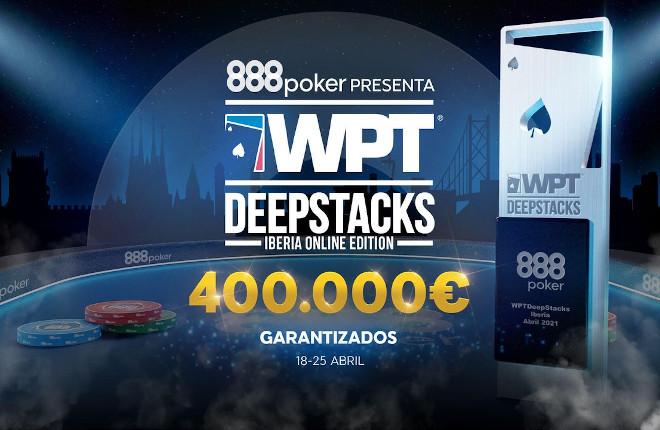 WPTDeepStacks™ y 888poker organizarán un festival de torneos online en abril
