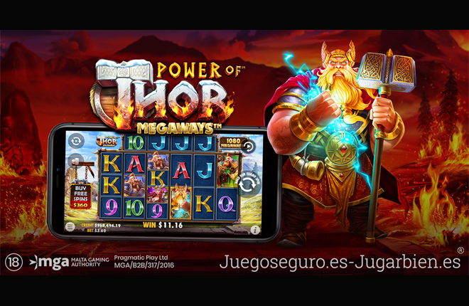 Pragmatic Play anuncia un nuevo éxito electrizante: Power of Thor Megaways™
